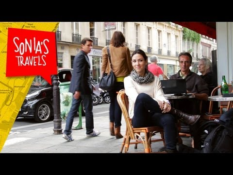 Travel Paris: People Watching at a Cafe in Paris