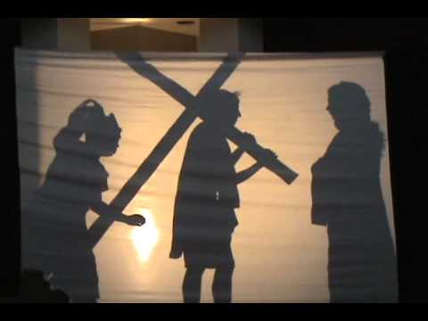 Stations of the Cross Silhouette Edition