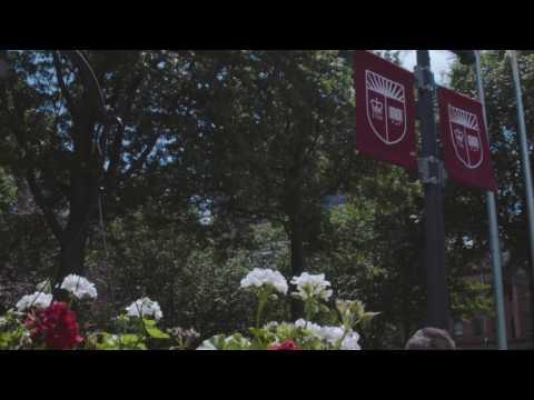 Beautiful Day at Rutgers University