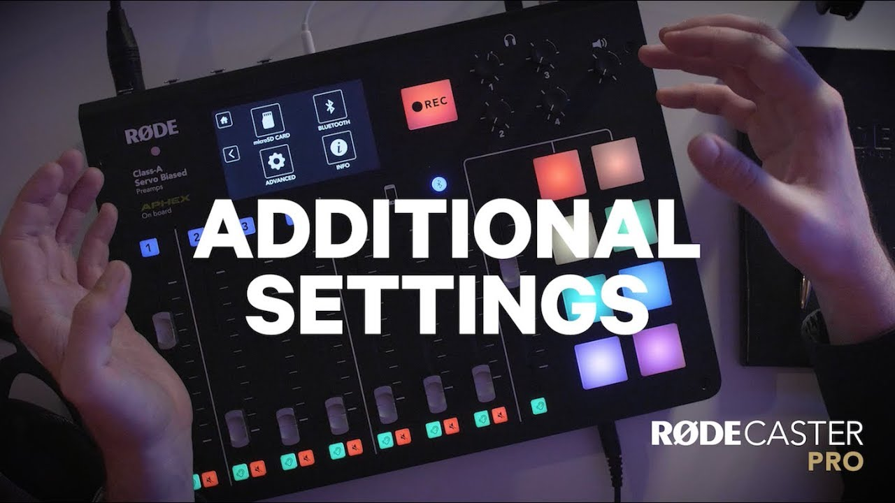 Learn How to Setup Your RODECaster Pro with These Tutorials | 4K
