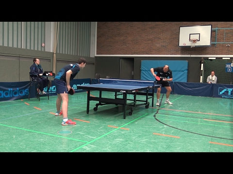TT-VL (6-5) Block Spieler: Jürgen Ludwig - Leonard Putzolu | Tischtennis 28.01.2017