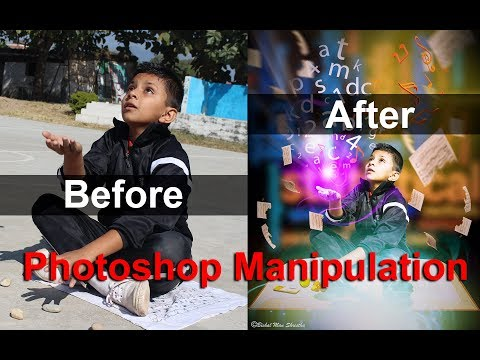 Before and After Photoshop Manipulation Learn amazing photoshop manipulation