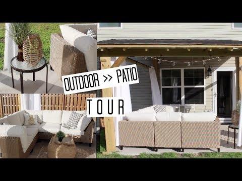 Outdoor Patio Tour | Backyard Decor & Furniture | House to Home