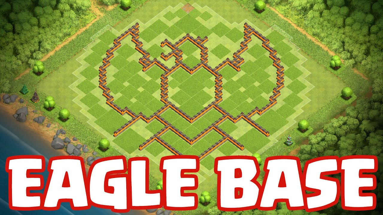Clash of Clans - Town Hall 11 | Home Village | The EAGLE Base + ...
