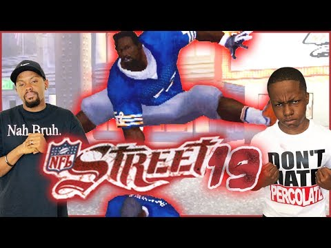 NFL Street 19 - Eagles Vs Bears Playoff Matchup! (NFL Street 3 Updated Rosters)