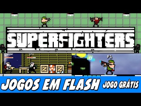 SuperFighters – Game com MULTIPLAYER LOCAL!
