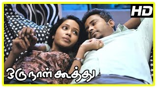 Oru Naal Koothu Tamil movie | scenes | Riythvika insulted | Dinesh shares his insecurity | Nivetha