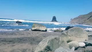 Playa NUDISTA BENIJO   BEST NUDE BEACH TENERIFE!!! NATURIST 2018