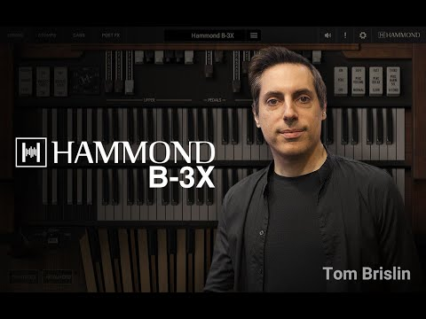 Tom Brislin (Yes, Kansas) on Hammond B-3X virtual B3 organ