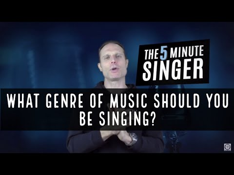 What Genre Of Music Should You Be Singing?