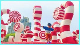 Istana Rumah Balon Terbesar & Terunik ! Mainan Anak Laki-Laki & Mainan Anak Perempuan