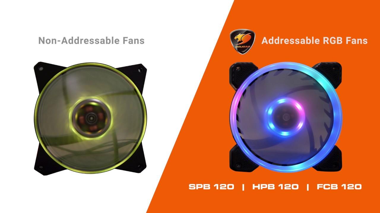 COUGAR VORTEX RGB HPB 120 Cooling Fan - COUGAR