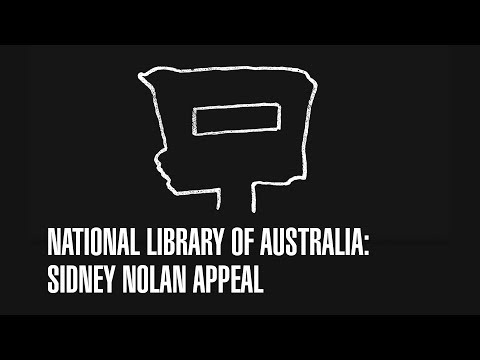 Sidney Nolan Appeal: National Library of Australia