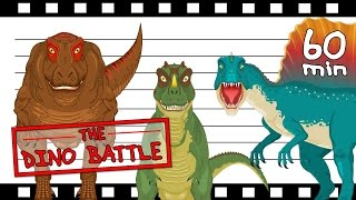 Usual Dinopect! BEST Dinosaurs Battle Match♣ 60 Mins Non Stop Short Movie for Kids +Compilation