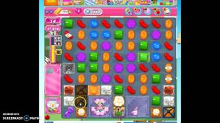 Candy Crush Level 1143 help w/audio tips, hints, tricks