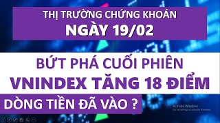 Nhận Định Thị Trường Chứng Khoán Ngày 19/02: Đáo Hạn Phái Sinh Vnindex  Bứt Phá Tăng Mạnh 18 Điểm