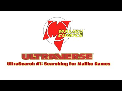 UltraSearch #1: Searching For Malibu Comics And Ultraverse Video Games