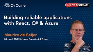 Building reliable applications with React, C# and Azure - React Virtual Conference 2021