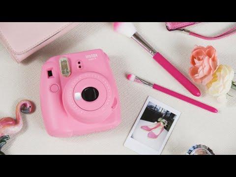 Instax Mini 9 in Flamingo pink