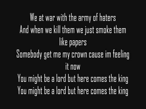 Here Comes The King - Snoop Lion (lyrics)