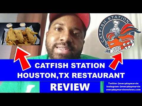 Catfish Station Houston TX Restaurant Review - Best Place For Fried Catfish In Houston Tx