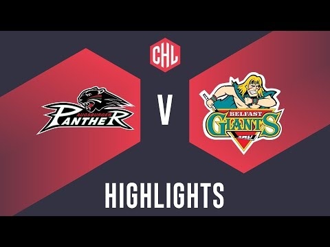 Highlights: Augsburger Panther Vs. Belfast Giants