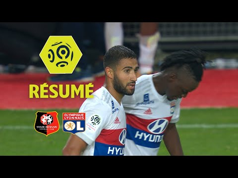 Stade Rennais FC - Olympique Lyonnais (1-2)  - Résumé - (SRFC - OL) / 2017-18