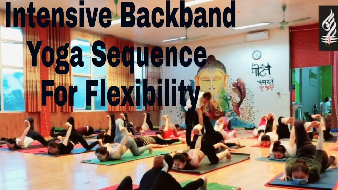 Download 52 minutes Backbend Yoga Sequence for Flexibility   Yoga Practice  Yoga With Raghuvir   Yoga Class  
