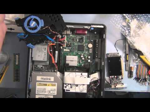 Dell Optiplex 745 Memory and Video Card  Installation