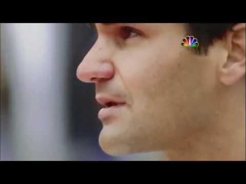 Emotional Federer to tears during Roland Garros 2009 ceremony / national anthem of Suisse.