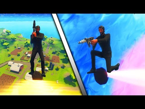 FORTNITE METEOR RIDING...