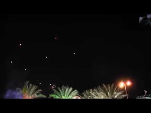 Combat Footage Israeli wedding witnesses a rocket attack
