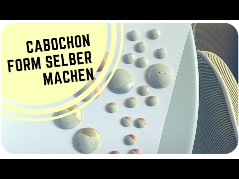 diy cabochon form abdruck aus silikon selber machen. Black Bedroom Furniture Sets. Home Design Ideas