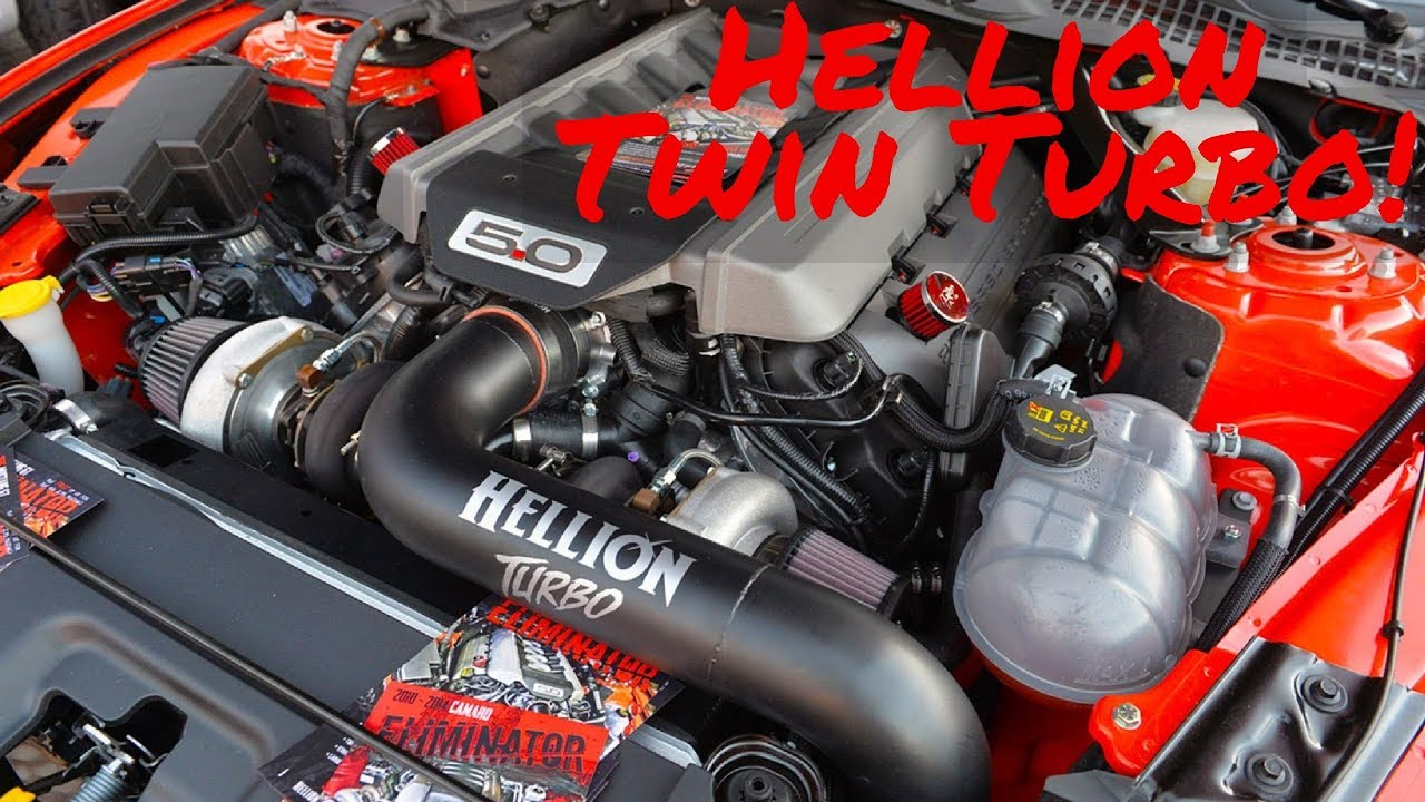 Hellion Twin Turbo 2017 Mustang Kit Overview
