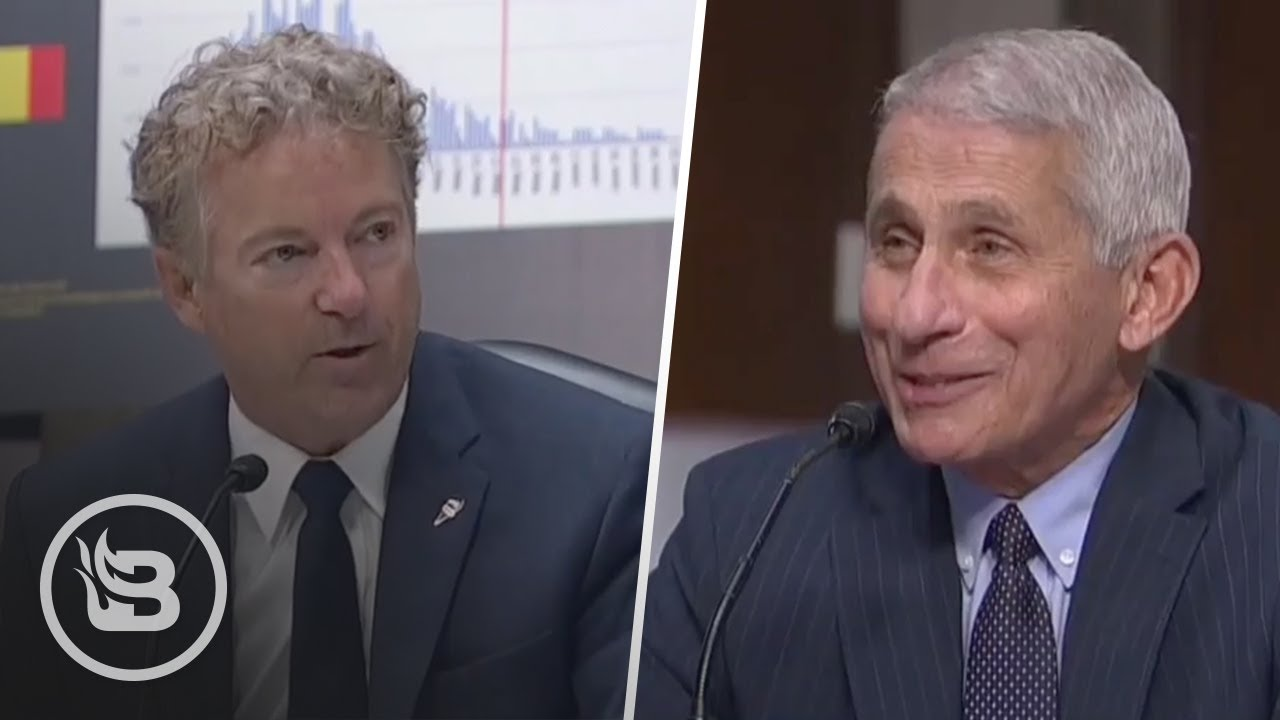 Rand Paul GRILLS Dr. Fauci for His Inconsistencies on Coronavirus Guidance