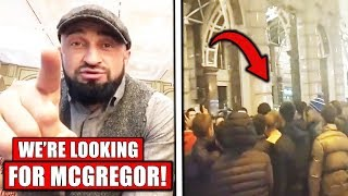Dagestani's Enter Conor McGregor's Hotel in Moscow to confront Conor, Nate Diaz IS STILL ON UFC 244