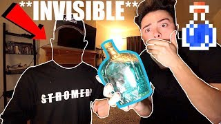 (Scary) Ordering INVISIBLE potion from the DARK WEB at 3AM Challenge (I'm Invisible)