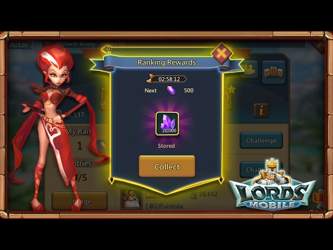 Lords Mobile: Ways To Get Gems Without Paying!