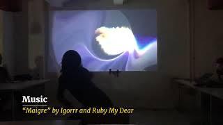 Dance with Movement-Reactive Visuals (Valencia + Kazik) - [Berlin, Oct 2019]