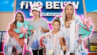 Huge No Budget Shopping Spree at five Below