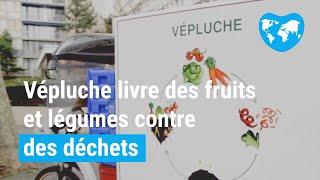 Vepluche, la start up qui collecte à vélo les déchets des restaurateurs