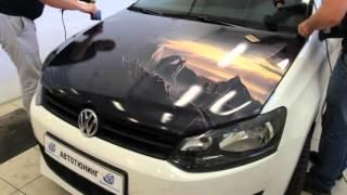видео Антигравийная пленка на авто: особенности установки