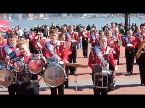 Neenah High School Band - NYC 2016 Performance