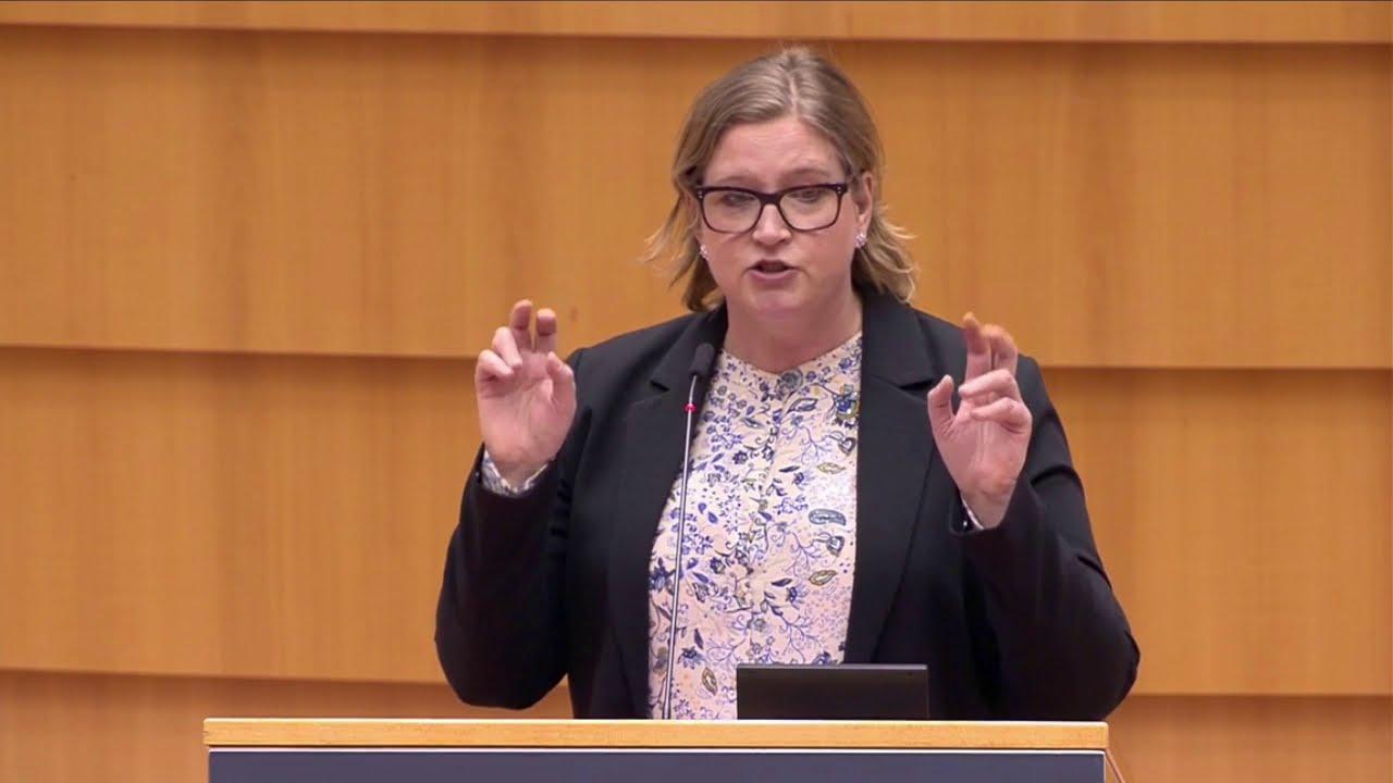 Karin Karlsbro 08 March 2021 plenary speech on WTO compatible EU carbon border
