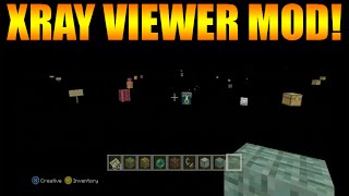 ★Minecraft Xbox 360 + PS3: NEW X-RAY VIEWER MOD! - See Items Through The World! (Console Mods)★
