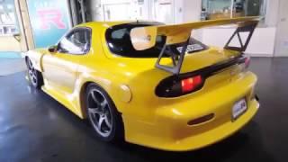 1992 Yellow RX7 - RE Amemiya - GarageR JapStar Imports - www.JapSta...