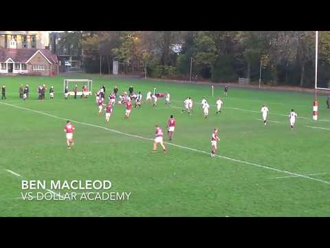 Fettes College 1st XV Top Tries 2017