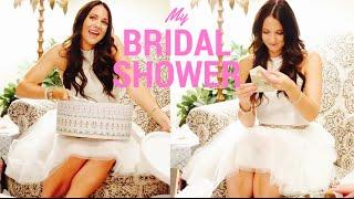 MY BRIDAL SHOWER