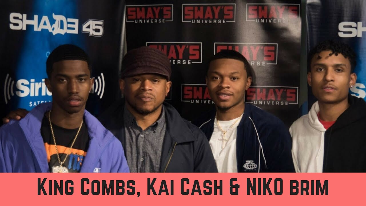Download King Combs and CYN (Kai Cash & Niko Brim) Crew 5 Fingers of Death Freestyle | Sway's Universe