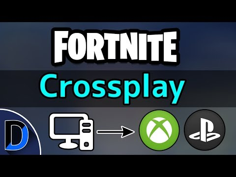 Fortnite: How To Crossplay Console (Xbox & PS4) With PC